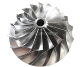 Custom impeller CNC 5axis machining part Services