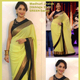 Exclusive Indian Latest Green Bollywood Designer Saree