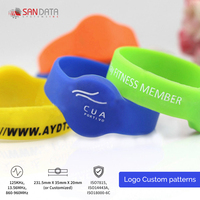 High Quality RFID Silicone Wristbands