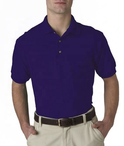 single jersey and pique mens polo shirt 100% cotton embroidered logo pattern design/design your work wear high quality polo