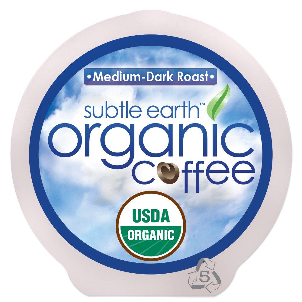 Cafe Don Pablo 84 Count K-Cups, Subtle Earth Organic Gourmet Coffee Medium-Dark Roast, Keurig Brewers 2. 0 Compatible USDA Certified Organic Coffee K-cup 84 ct. Box (Medium-Dark Roast, 84 Count)