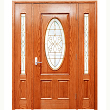 Best Quality Luxury 2017 New Design Interior PVC coated MDF Wooden Doors for rooms