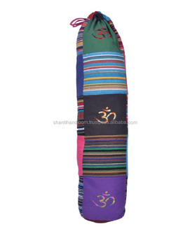 496abef310 Handmade Cotton Yoga Mat Bag