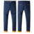 Men's plus velvet Casual pants winter warm thick slacks Straight youth trousers business men's clothing stock