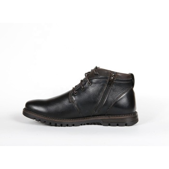 Shoes boots, leather winter shoes for men - M240chp