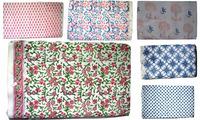 handmade hand block print fabric handmade cotton indian natural jaipur sanganeri print fabric india