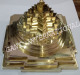 MERU SHREE YANTRA SILVER PLATED RELIGIOUS HANDICRAFT ITEM