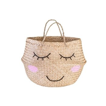 New seagrass belly basket sweet dream basket