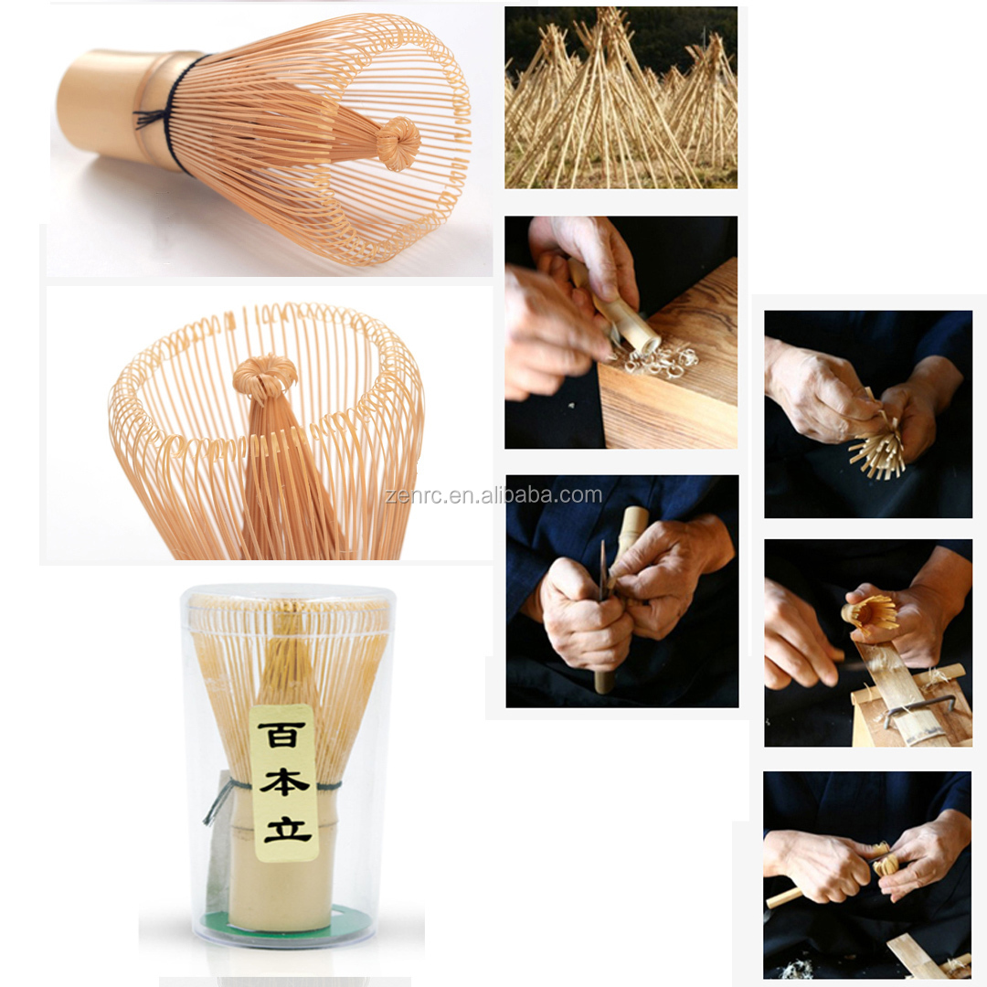 Eco Friendly Bamboo Matcha Whisk With Custom Logo