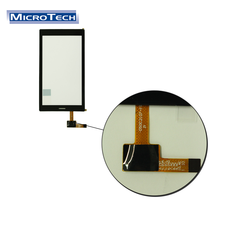 Industrielle Maschinen LCD Monitore Hohe Auflösung 720x1280 Angepasst Interface und IC 6 Pin 5 Zoll Kapazitive Touch Panel