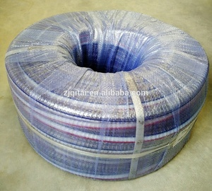 PVC reinforced flexible spring steel wire hose/PVC water suction hose pipe with 10mm