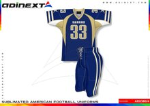 American Football Uniforms, Custom Design American Football Uniforms, Sublimated American Football Uniforms - Item No. AE02SB024