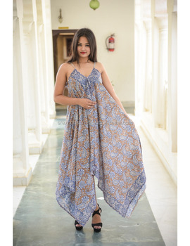 b2f749d896f6c Bikini Cover Up Long Sarong Party Wear Dress Cotton Block Printed Ladies  Women Fashionable Dresses Stylish
