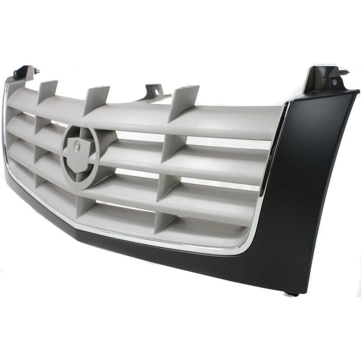 Diften 102-A2835-X01 - New Grille Assembly Grill Black shell silver insert Escalade GM1200509 15162129