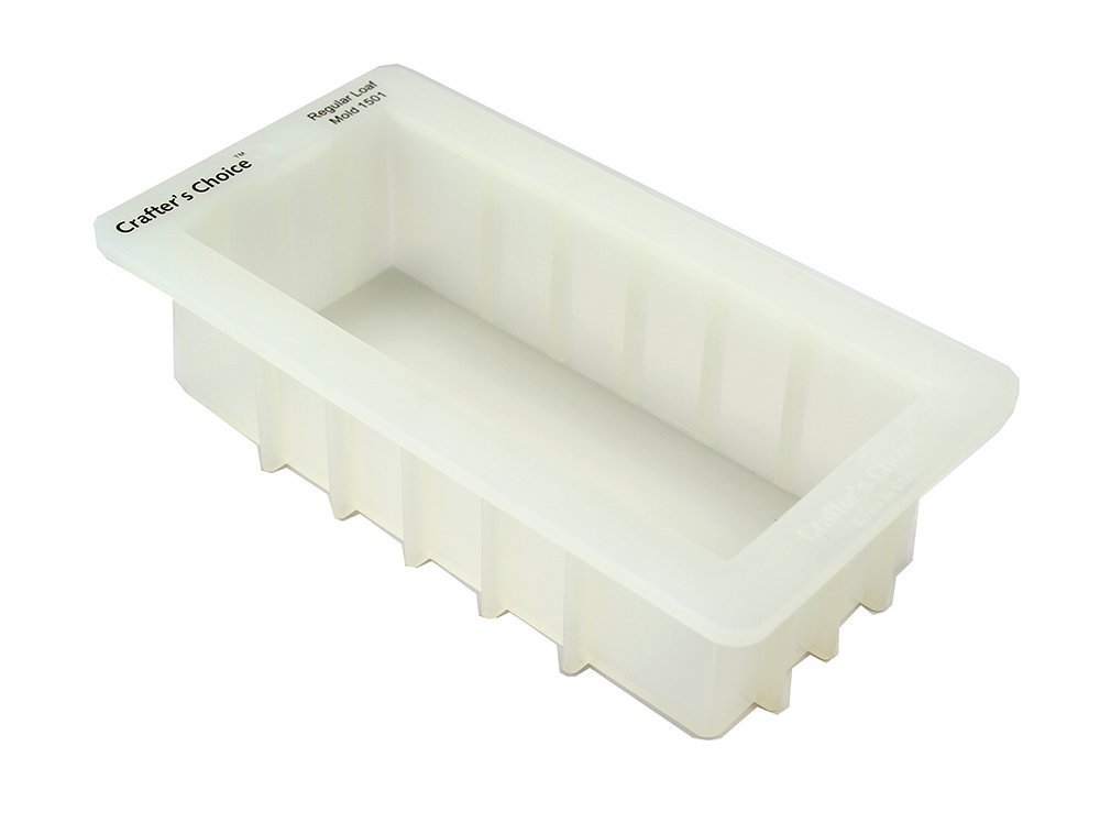 Crafters Choice - Regular Silicone Loaf Soap Mold - 1501