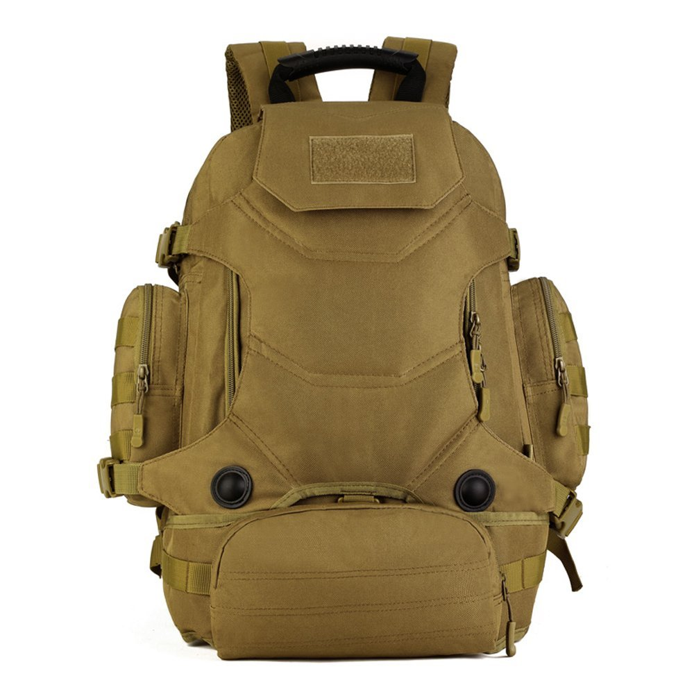 1019affce0ec Get Quotations · X-Freedom 40L Military Style Backpack Tactical Rucksack  Hunting Backpack MOLLE System Outdoor Travel Bag