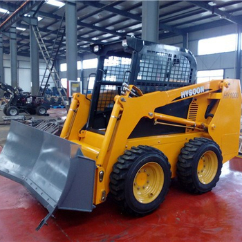 skid steer mini bulldozer per la vendita