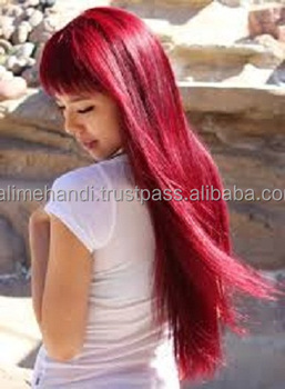 Natural Ruby Henna Hair Color (low Chemical) - Buy Natural Ruby ...