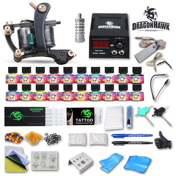 Dragonhawk Professional Tattoo Liner Machine Gun Kits - Buy Tattoo ...