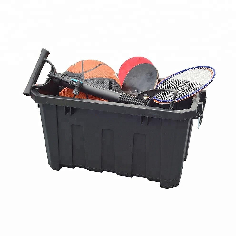 Tactix - 45 Litre - Heavy Duty Storage Box - 60.5 W X 38.3 D X 32.5 H Cm -  Black - Ttx-320502 - Buy Heavy Duty Storage Bins,Heavy Duty Storage  Boxes,Heavy Duty Plastic Storage Boxes Product on Alibaba.com