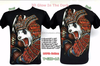 3d Glow In The Dark T Shirts With Stunning Prints On The Front And Back