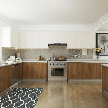 Melamine Modular Wood Kitchen Cabinet
