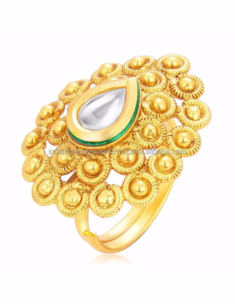 Traditional Gold Rings Designs For Women, Traditional Gold Rings ...