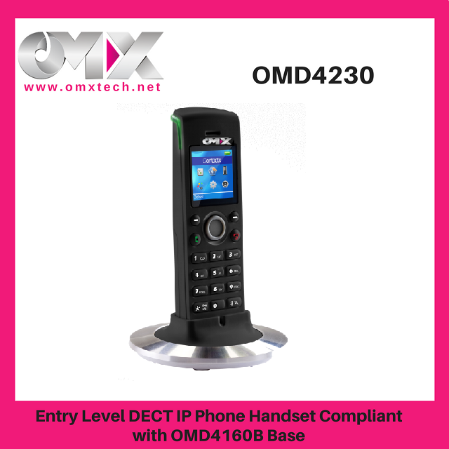 Cost Effective Entry Level Wireless VoIP DECT cordless SIP IP Phone