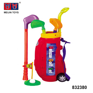 best quality outdoor sport game plastic kids toy golf set