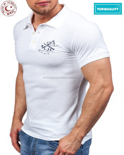 2018 bulk cheap apparel plain custom 100% cotton mens polo t shirt
