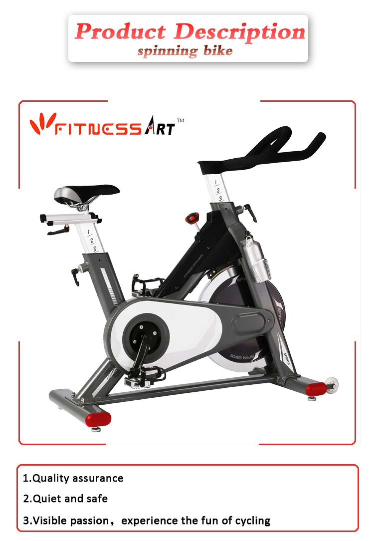 Fitness club exercise bike indoor cycle spinning bike commercial spin bike