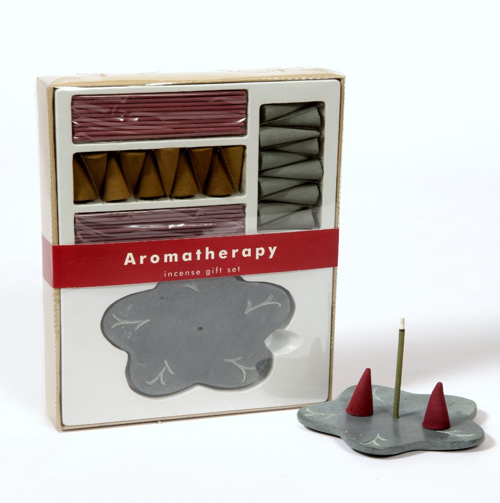 Aromaterapia Incenso Stick & Holder Set