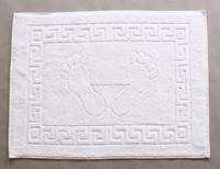 %100 High Quality Ring Carded Turkish Cotton Hotel Collection 50x70 Bath Mat