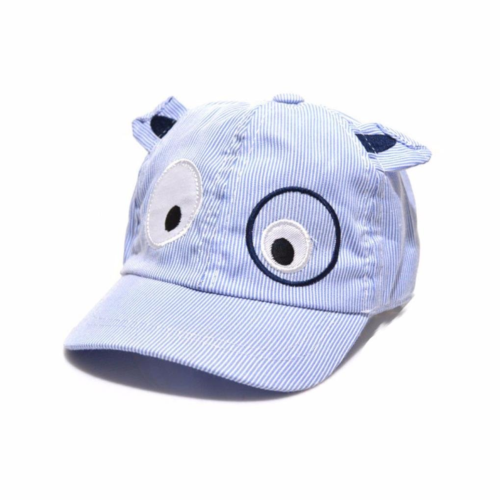 Orangeskycn Kids Hats Baseball Cap Baby Hat Boy Hats For Kids Toddler Hats For Boys By (Blue)