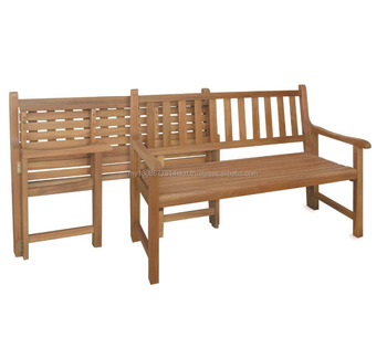 Lisbon 2 Seater Folding Bench Buy Made In Malaysia Outdoor Bench Hard Wood Bench Product On Alibaba Com