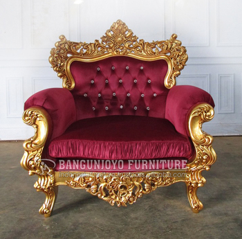 Rococo Armchair Baroque Louis French Ornate Vintage Antique Armchairs