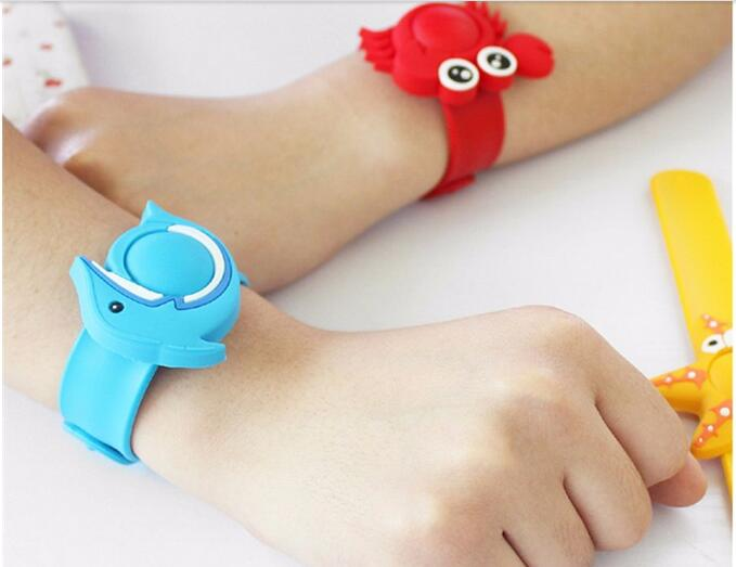 Eco-friendly Silicone Anti-mosquito snap bracelet from China factory
