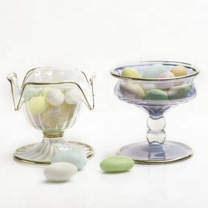 Decorative Crystal Glass Candy Jars
