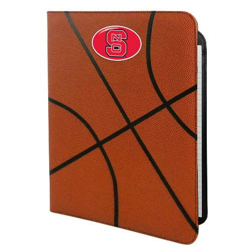 NCAA North Carolina State Wolfpack Classic Basketball Portfolio, 8.5x11-Inch