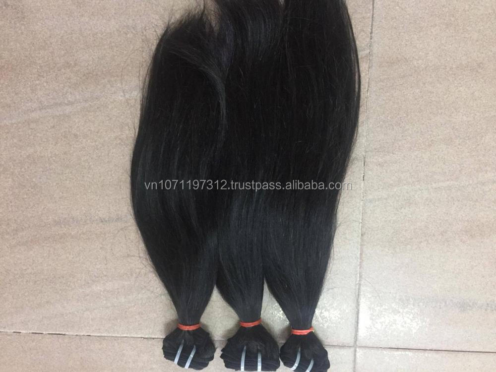 vietnamese virgin remy unprocessed human hair weft wavy cheap human hair weft