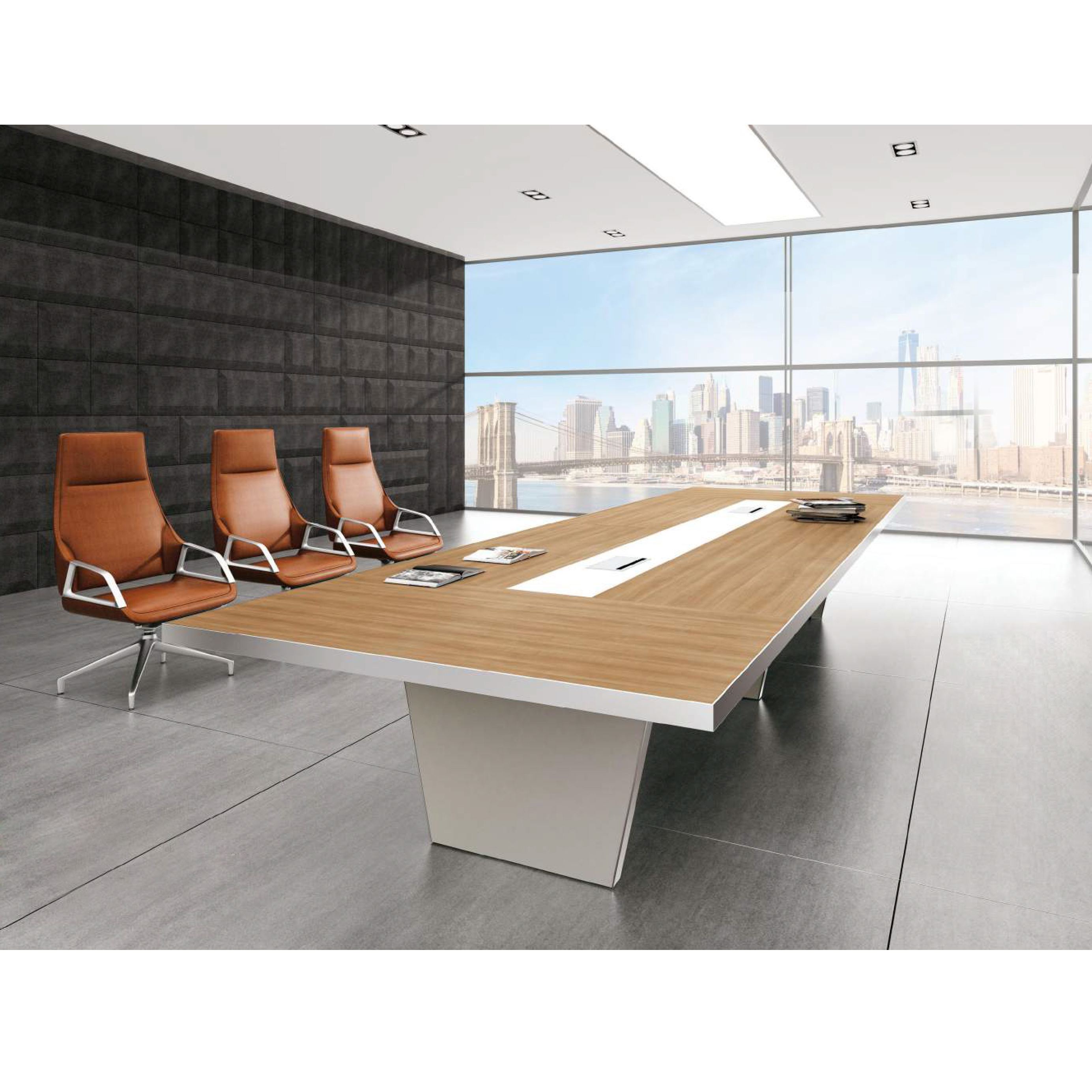 China Manufacture Modern Conference Table Room Furniture Office Meeting