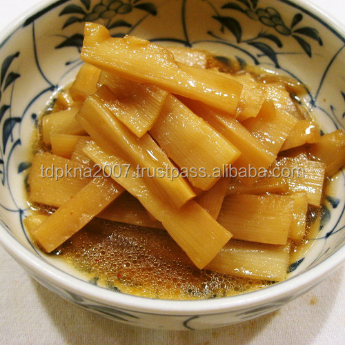 Canned Bamboo Shoot / Strips Rich Nutrition Low Price
