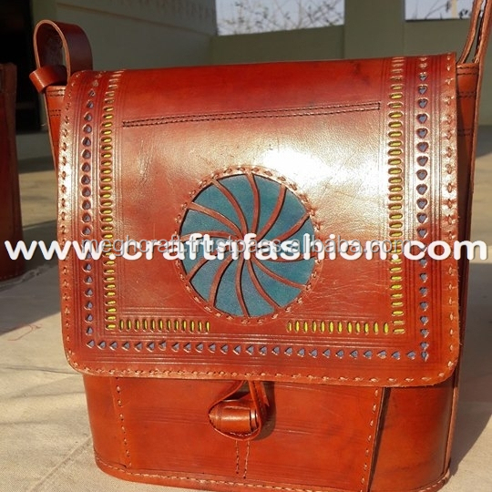 Kutch Embroidery Handcrafted Leather