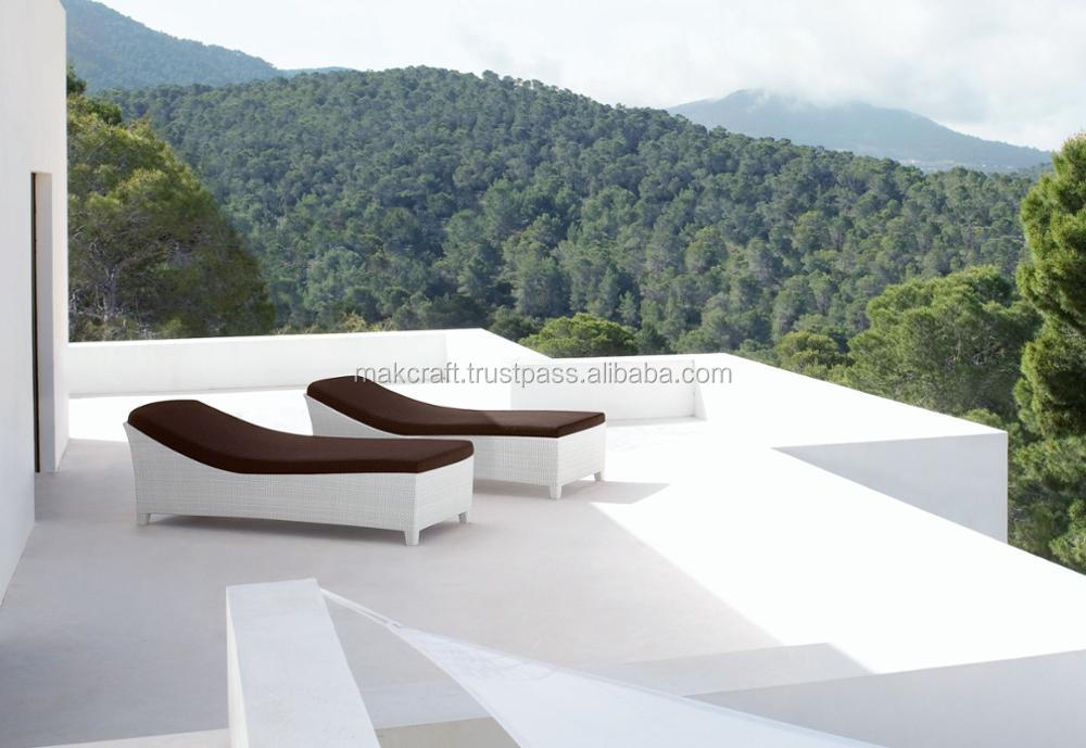 De Luxe En Rotin Mobilier De Jardin Solarium-patio En Plastique ...