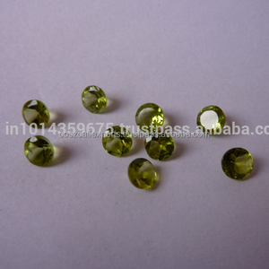6mm round Peridot Stone Price Natural Oval Cut Loose Peridot Stones