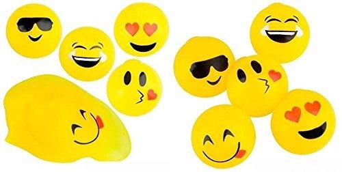 Emoji Squishy Splat Ball Pack (1 Dozen Splat Balls)