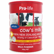Pro-life Whole Cow's Milk | 100% New Zealand Made, Drug and Hormone Free
