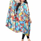Calf Length Kaftan / Comfortable Collar Neck Fashionable Short Kaftan / Latest Modern Style Free Size Kaftan 2017 (kaftans 2017)