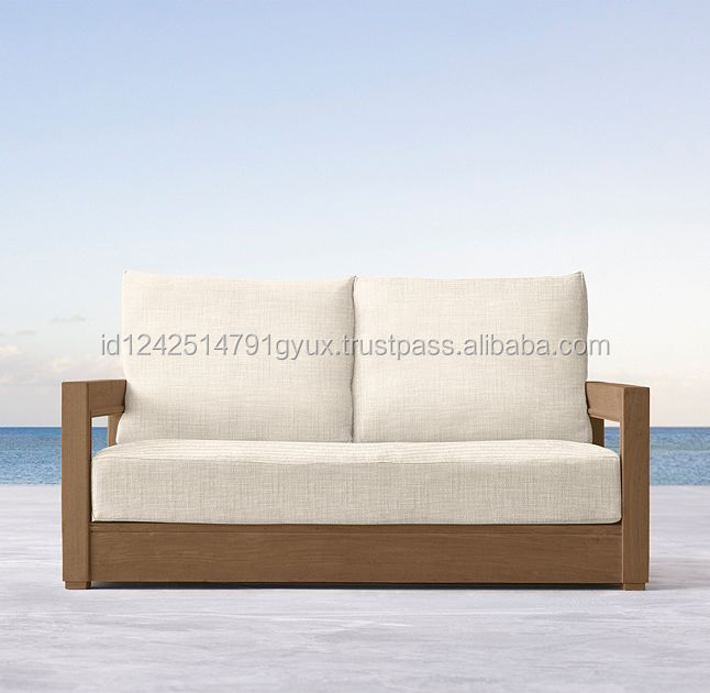 Indonesia Kasta Wooden Two Seat Sofa
