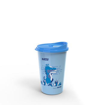 Plastic thermos cup  bottle for cold and hot water low price high quality
